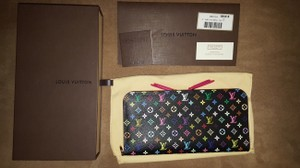 Louis Vuitton BNWT 2015 Louis Vuitton Multicolor Noir Grenade Insolite Wallet