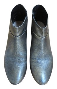 Cole Haan Metallic Low Heel Bronze Gold Bronze metallic Boots
