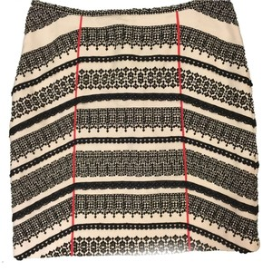 Anthropologie Skirt White/black