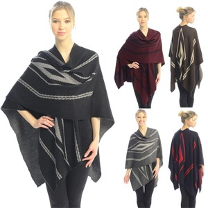 Free Shopping NEW' PONCHO BLACK JP208