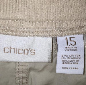 Chico's Cargo Pants Beige / tan