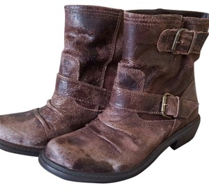 MIA Distressed Motorcycle Leather Boots