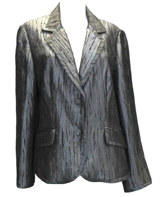 Preload https://img-static.tradesy.com/item/9758959/insight-pewter-textured-buttoned-jacket-blazer-size-16-xl-plus-0x-0-1-650-650.jpg