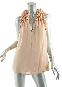 Graham & Spencer & Silk Chiffon Floral Tank Top Blush