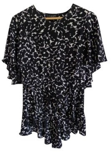 Preload https://item2.tradesy.com/images/jill-stuart-black-and-white-blouse-size-0-xs-976-0-0.jpg?width=400&height=650