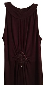 St. John Dark Sleeveless Dress
