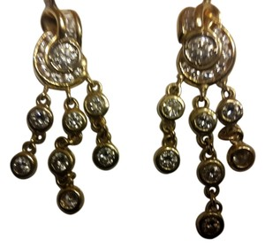 Dangling diamonds earing Custom made