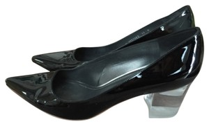 Stuart Weitzman Glassy Patent Pumps Black Patent Pumps