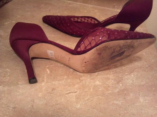 Nina Shoes Maroon Formal