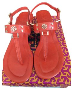 Tory Burch Robinson Wedge Sandals Orange Sandals