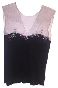 Blumarine Top Black/multi