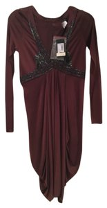 Maroon Maxi Dress by Patrizia Pepe