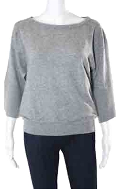Item - Boat Neck Cashmere Gray Sweater