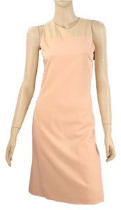 Calvin Klein Sheath Two-tone Shift Sleeveless Summer Spring Casual Dress