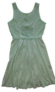 Free People short dress Mint Green on Tradesy