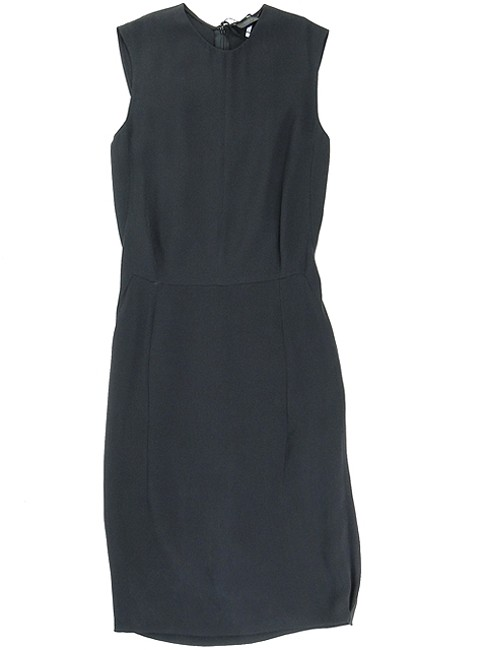 Calvin Klein Sheath Silk Sleeveless Structured Dress