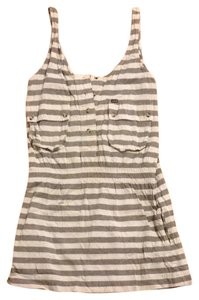 Hurley short dress Navy/beige on Tradesy