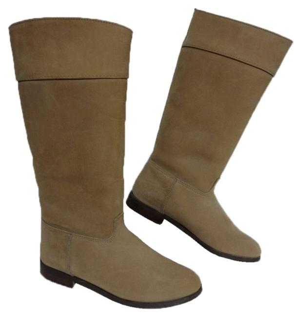 L.L.Bean Beige Vintage Canada Women M Equestrian Riding Boots/Booties Size US 7 Regular (M, B) Image 1