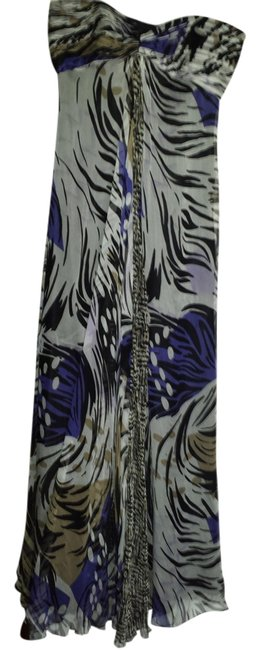 Black, white and blue Maxi Dress by Laundry by Shelli Segal