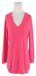 Jones New York Collection Cashmere Woman V-neck 3/4 Sleeve; Office Wear; Casual Wear; Sweater; Sweater; Tunic