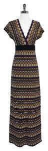 Maxi Dress by Missoni Multi Color Wool Blend Knit