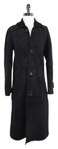 Ralph Lauren Black Shearling Coat