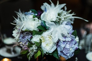 8 Silk Flower Centerpieces