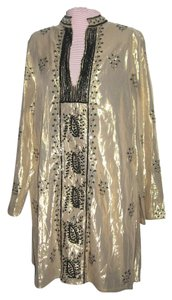 WD.NY Caftan Sequins Multifunctional Embroidery Tunic