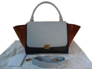 Céline Tri-color Trapeze Baby Shoulder Bag