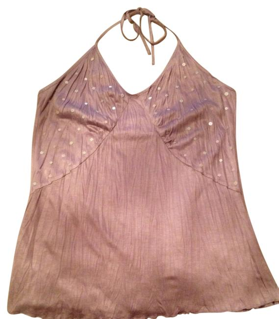 A|X Armani Exchange Lavender Light Purple Halter Blouse Size 8 (M) A|X Armani Exchange Lavender Light Purple Halter Blouse Size 8 (M) Image 1