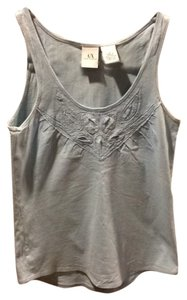 A|X Armani Exchange Top Pale blue