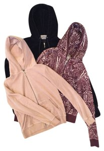 Juicy Couture Velour Neutral Paisley Set Jacket