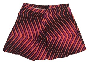 Nasty Gal Mini Skirt Orange, Purple, Black