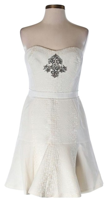 Preload https://img-static.tradesy.com/item/9770362/rebecca-taylor-white-strapless-cloque-embellished-above-knee-cocktail-dress-size-6-s-0-2-650-650.jpg