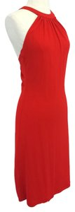Céline Red Sleeveless Dress