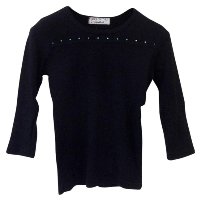 Preload https://item4.tradesy.com/images/juicy-couture-black-with-baby-blue-rhinestones-length-sleeve-accents-tee-shirt-size-8-m-977058-0-0.jpg?width=400&height=650