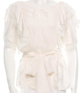 Oscar de la Renta Top white/off white
