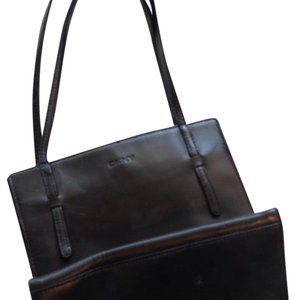 DKNY Leather Box Style Baguette