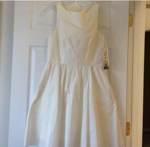 Jim Hjelm Ivory Bridesmaid Dress