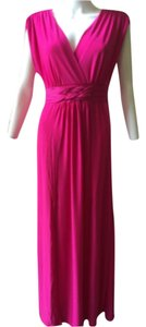 Fuschia Maxi Dress by Sievergate