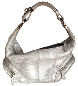 Tod's Satchel in Silver/White