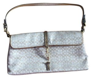 Coach Silver/Gold Clutch
