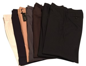 Express Trouser Pants Tan, brown, black and grey