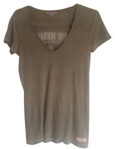 True Religion T Shirt Army Green
