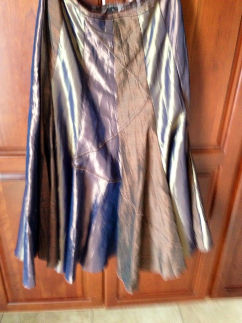 Vanklee Different Colors As You Move Maxi Skirt Multi