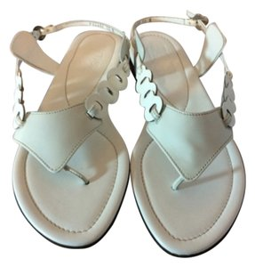 Salvatore Ferragamo White Sandals
