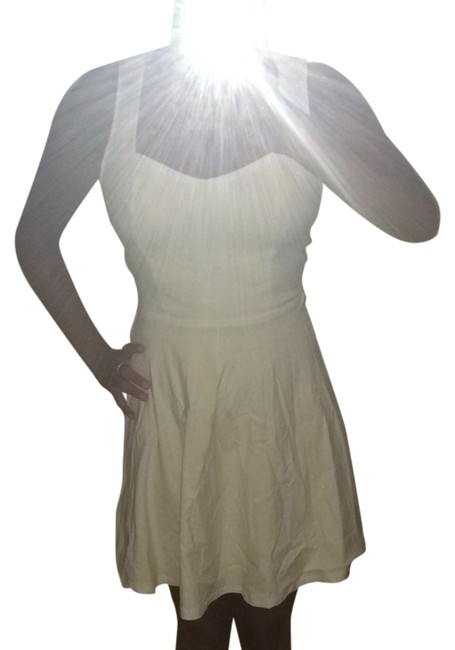 Item - White Summer Short Casual Dress Size 4 (S)
