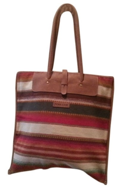 Item - Bag Reserved For Ashley Nwot and Leather Multicolor Wool Tote