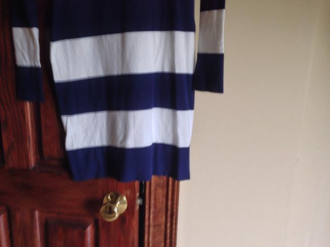 Minnie Rose short dress White/navy Never Wore Tag Must Have Falling Off on Tradesy