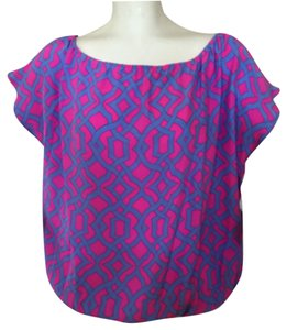 Alice & Trixie Top Blue/Pink